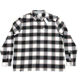 Lacoste Sport 3XL Plaid Flannel Button Front Shirt